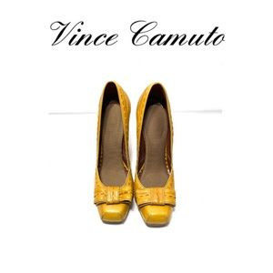 🌻Vince Camuto Square Toe Leather Oxford pumps!